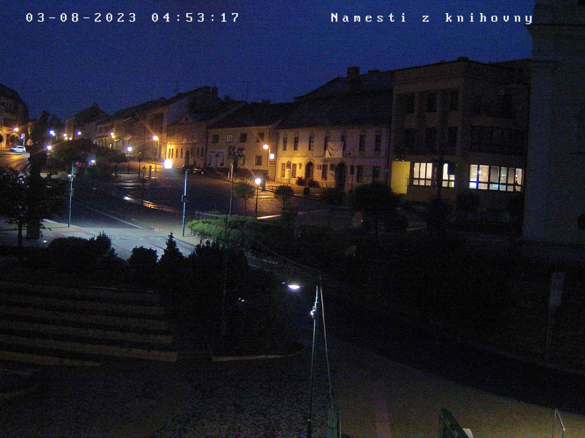 Bystřice nad Pernštejnem - náměstí
