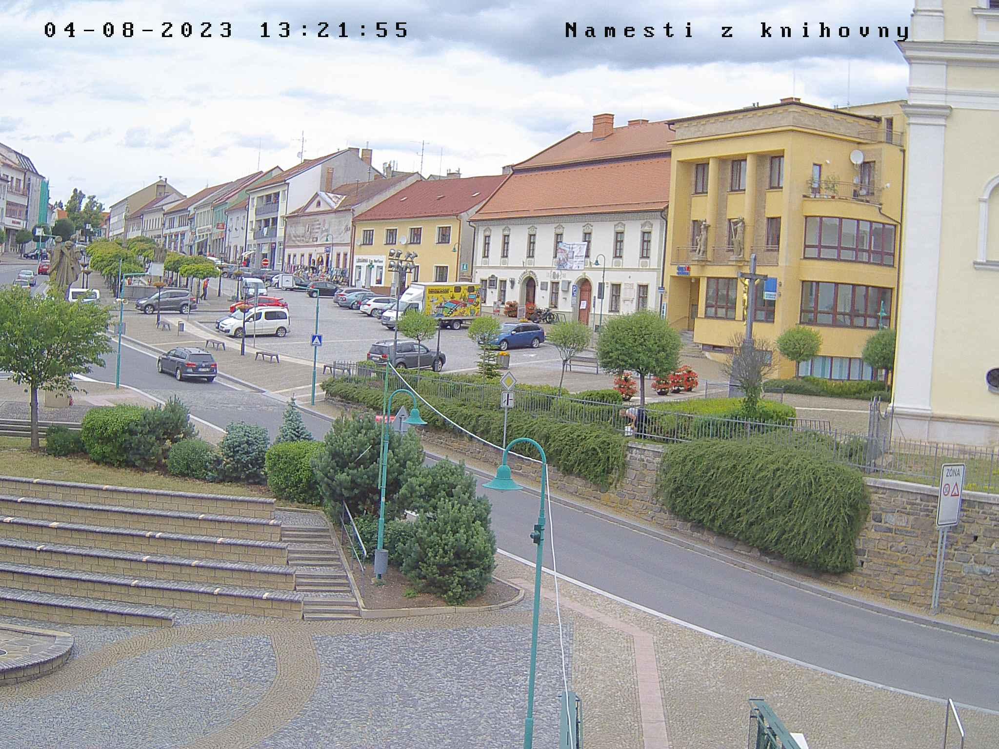Bystřice nad Pernštejnem – náměstí